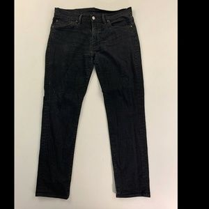 Levi's 511 Men's Black Slim Fit Jeans Size 33x32